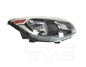 TYC Right Side Halogen Reflector Headlight Assembly For Kia Soul 2014-2019