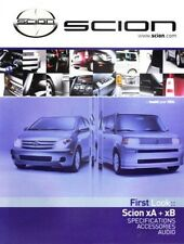 2003 03 Launch Issue Scion Magazine  XB, XA Sales brochure MINT