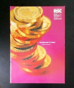 The Merchant of Venice programme RSC Barbican Theatre 1994 Clifford Rose