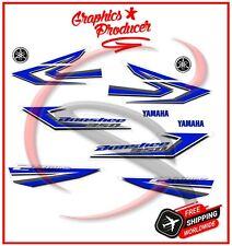 Yamaha Banshee Decals 2006 350 Model Full Set Graphics For OEM Fender Blue