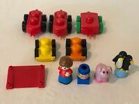 Mega Bloks First Builders Cars Vehicle Bases Figures Animals Building Set Lot