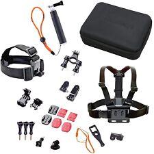 Rollei Actioncam Zubehör Set Outdoor 23tlg Set Tasche Brustgurt Kopfband GoPro®