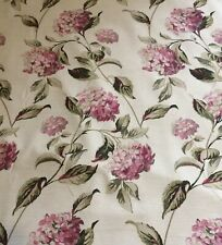 Laura Ashley Hydrangea Fabric Off The Roll 1 Metre Brand New