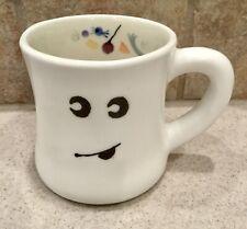 HARTSTONE Pottery HAPPY GHOST & HALLOWEEN TREATS Large MUG ~Rare~