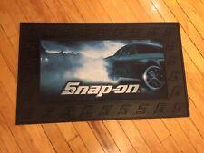 NEW Snap On Tools RACING Black Rubber Bench Top Utility Tool Box Mat door pad
