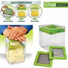 Chop Magic Vegetable Salad Fruit Cutter Chopper Dicer Slicer Container Tool