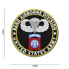 82º AIRBORNE DIVISION Parche SSI AA All American US Vietnam PARACAIDISTA #2