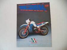 advertising Pubblicità 1985 MALANCA MARK 125