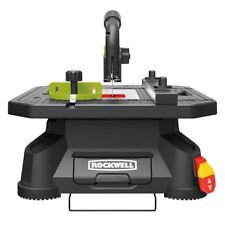 Portablejobsite table saws ebay portable tabletop saw rockwell blade runner jig cutting machine lightweight tool keyboard keysfo Image collections