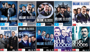 BLUE BLOODS : The Complete Series Season 1-10 : NEW DVD
