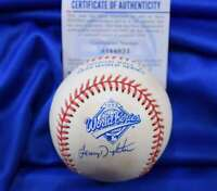 Lenny Dykstra PSA DNA Autograph 1993 World Series Signed Baseball