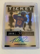 Jeren Kendall 2017 Leaf Valiant Ticket to The Show Blue Chrome Refractor Auto 35
