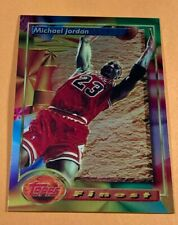 MICHAEL JORDAN 1993 TOPPS FINEST #1 - SHARP