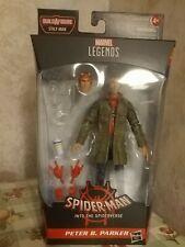 """Marvel Legends 6"""" Spider-Man Into the Spider-Verse NOBAF Stilt-Man Peter Parker"""