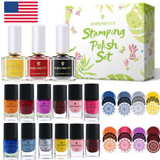 BORN PRETTY Nail Stamping Polish for Nail Stamp Plates Image Printing Varnish