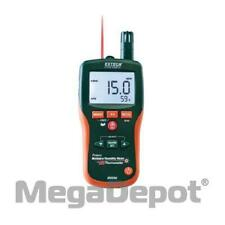 Extech Mo290 8 In 1 Pinless Moisture Psychrometer With Ir Thermometer