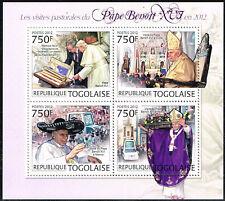 2012 Togo 4603-4606 Papst postfrisch (MNH)