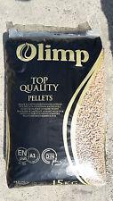 Holzpellets 6 mm 30 Kg, € 0,43/kg Holzpellet OLIMP DIN Plus zertifiziert Pellet