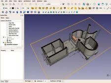 2018 2D 3D Professional Standard CAD - Computer Aided Design Software