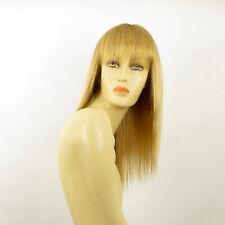 mid length wig for women golden blond abby ref 24b PERUK