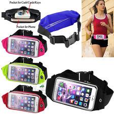 Fashion Sports Running Belt Waist Pocket Bags Cycling Jogging Travel Wallet Case