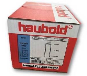 Haubold Klammer Klammern original 2x KG 735 CNK geh NEU 15000 Stück Art. 574938