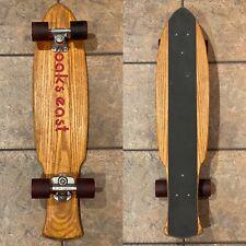 Vintage 70s Oaks East Downhill Skateboard W/ X-Cal Spring Truck Hobie Wheels