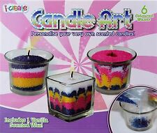 Candle Art making kit art scented wax craft candles make your own set