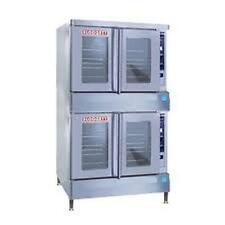 Blodgett BDO-100G-ES DBL BDO-G Full-Size Gas Value Convection Oven Double Stack