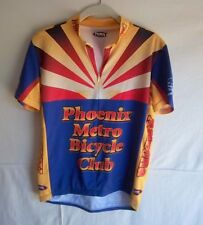 6c6ab6458 PRIMAL WEAR - Women s Red Blue Gold Phoenix Cycle Club Cycling Jersey - SIZE