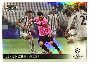 20-21 Topps Stadium Club Chrome Lionel Messi Refractor #1 FC Barcelona