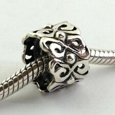 Authentic Chamilia Heart to Heart Sterling Silver Bead Charm 2010-3020,  New