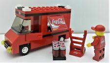 Lego City Custom Coca Cola Set. Truck. Minifigure. Hand Truck & MORE