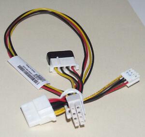 Dell PowerEdge 650 840 830 SC1430 Aux Drive Power Cable 8 Pin Molex D7321 0D7321