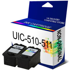 PG-510 CL-511 B & C NON-OEM Ink Cartridges Replace for Pixma MP492 MP495 MP499