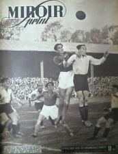 FOOTBALL ROUEN ROUBAIX MIROIR SPRINT 1946