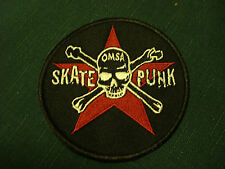 Iron On Patch - Skate Punk - clearance