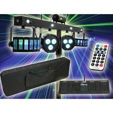 Showtec LED Lichteffekt Komplettset mit Laser QFX Multi FX Lightset