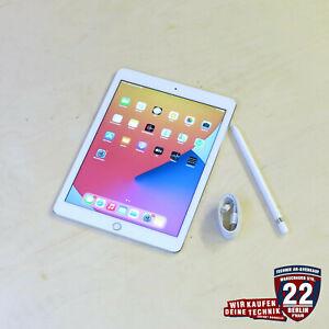 Apple iPad Pro 1. Gen 128GB, Wi-Fi, 9,7 Zoll - Silber inkl. Apple Pencil