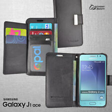 More Wallet Flip Card Slot Leather Case Cover For Samsung Galaxy J1 J1 Ace + ScG