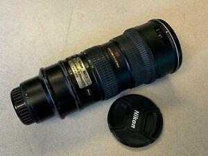 Good Used Nikon NIKKOR 70-200mm f/2.8 VR AF-S G FX Full Frame Lens