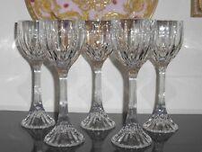 Mikasa Crystal Park Lane Wine Hock Glasses Set of 5