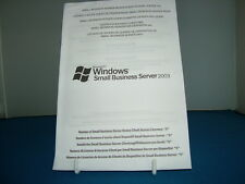 Windows Small Business Server 2003 SBS 5 User CAL Licence Pack DELL CALs