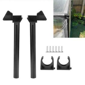 Greenhouse Rainwater Gutter Water Butt Down Pipe Kit Drainage Downpipe Access HG