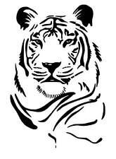 Tiger vinyl car Decal / Sticker