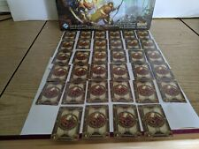 DESCENT JITD Board Game Monsters Heroes Replacement Cards Single or Set & Tokens