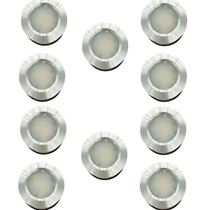 10 x LED 12V 24V Spot Lights Dimmable Caravan Motorhome Boat Recessed Downlights