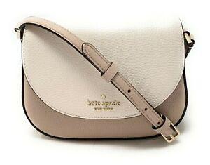 Kate Spade Leila Mini Flap Leather Crossbody Bag WLR00396 $239