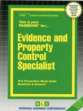 NEW Evidence and Property Control Specialist Exam Practice Passbook Test
