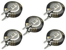 S419 - 5 Stück Goldcap 0,22F Kondensator Stützkondensator Flackerschutz Elko